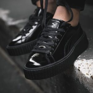 Fenty x Patent Leather Creepers 'Glossy black'